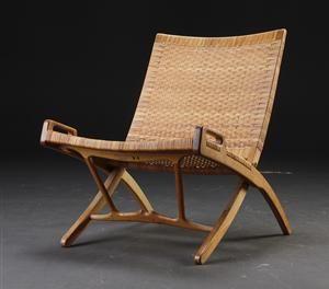 Hans J. Wegner 1914-2007. Folding chair, model JH 512