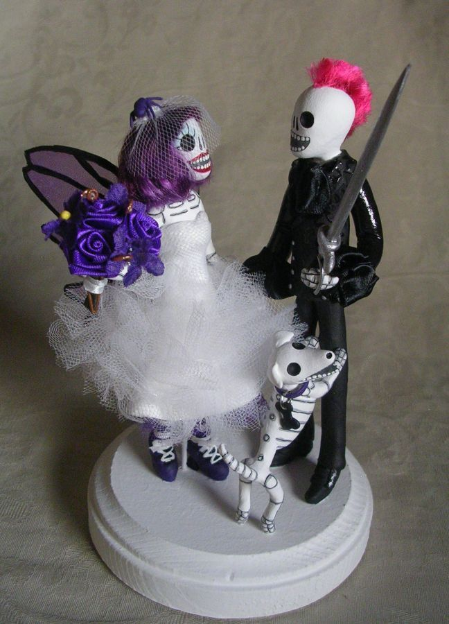 day of the dead wedding cake toppers uk 21 best day of the dead wedding cake toppers by clay lindo 13362