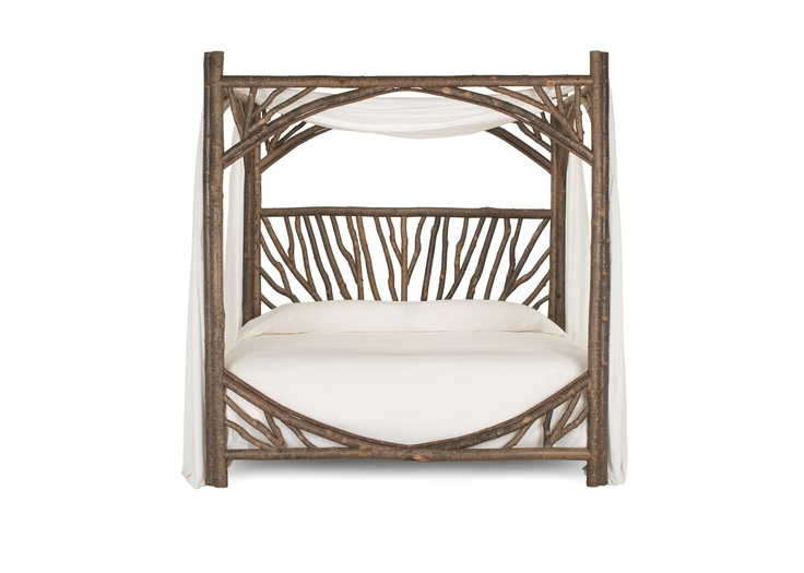 4282 Rustic Canopy Bed - Divine Rustic Style from La Lune Collection