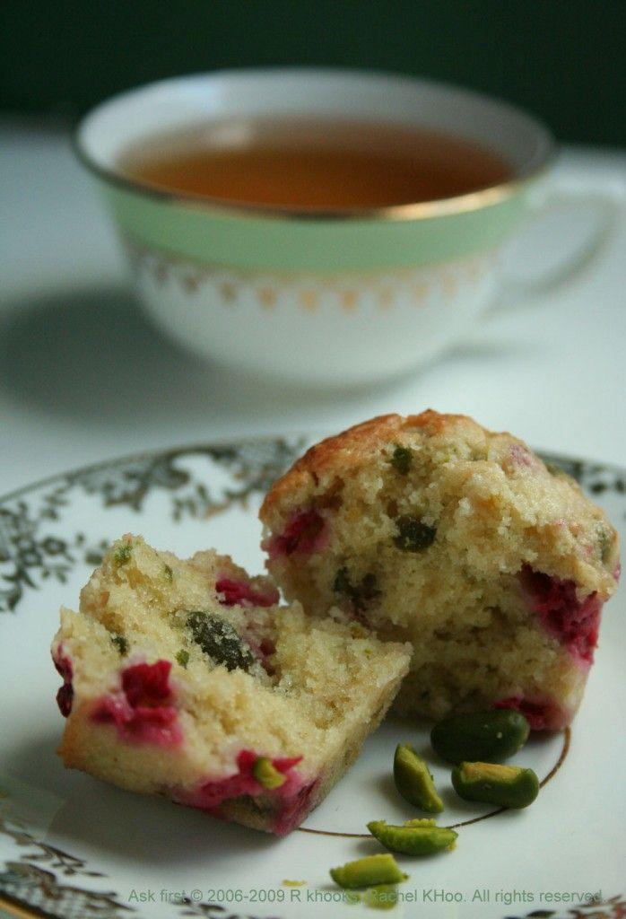 Rachel Khoo | Raspberry & Pistachio Mignardise Cupcakes