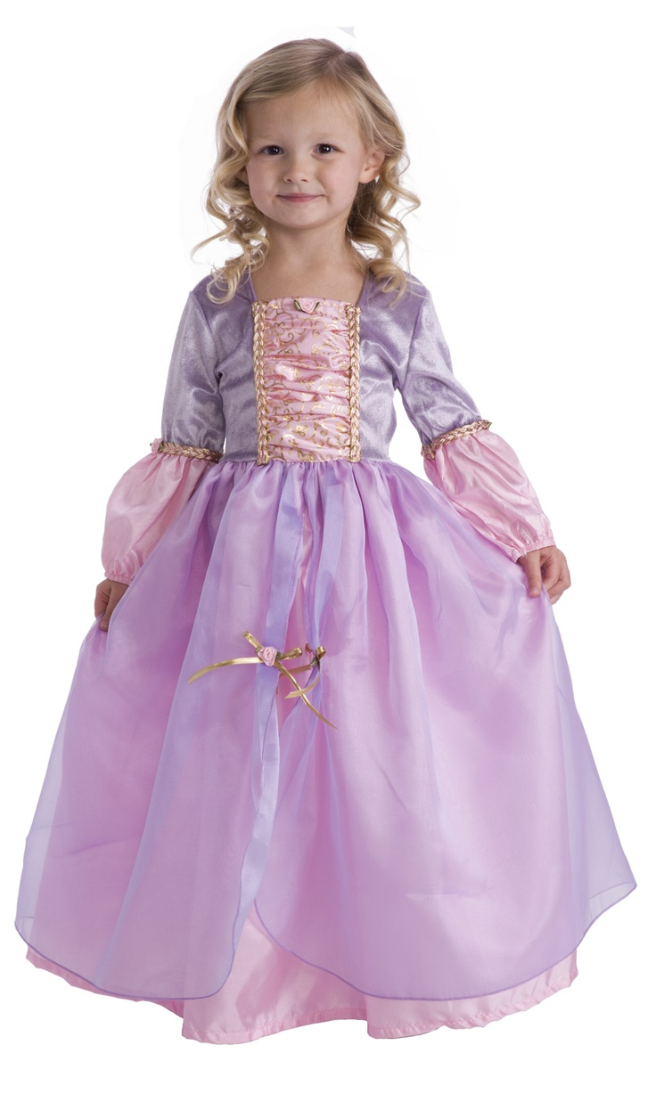 adorable rapunzel dress up machine washable great for dress up play and child halloween - Halloween Costumes Without Dressing Up