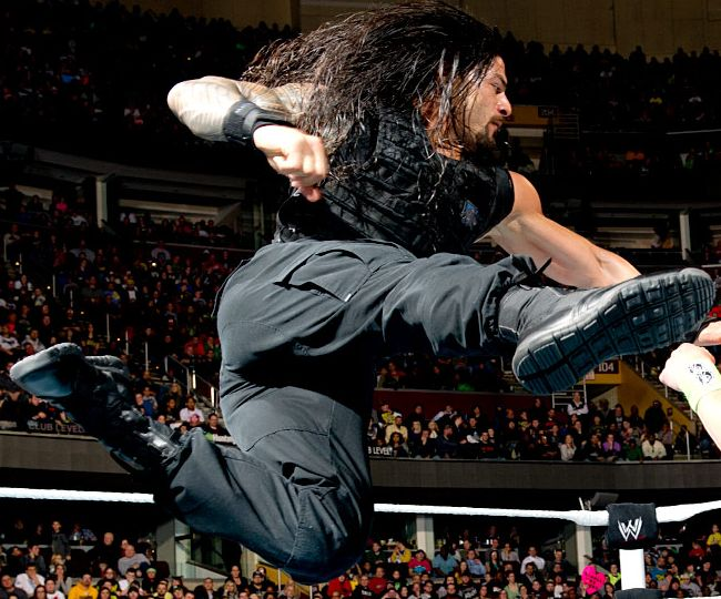 Roman Reigns Superman Punch: Romans Reining, Mouth Romans Reign, Reign ...