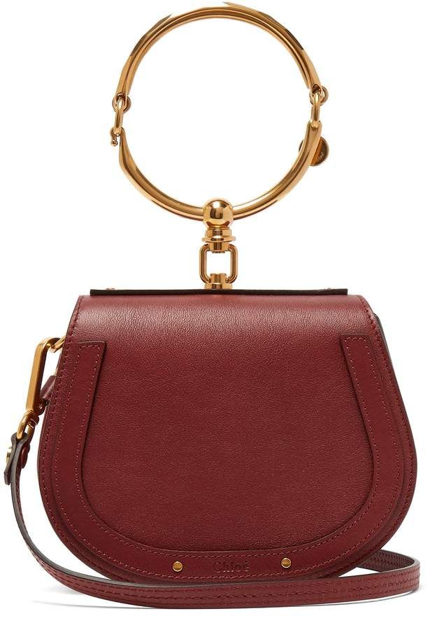93d3ae6f0fa9 Chloé Nile small and suede leather cross body bag