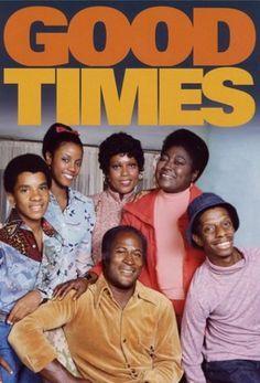 Good Times (1974–1979) starring John Amos (Seasons 1–3), Esther Rolle, Jimmie Walker, Ja'net Dubois, Bern Nadette Stanis & Ralph Carter