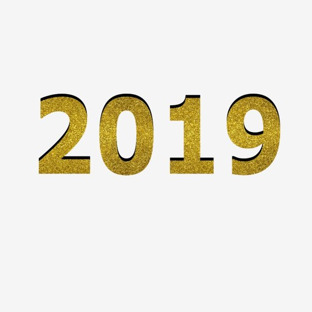 2019 New Year 2019 Numbers Happy New Year Png And Vector With Transparent Background For Free Download Chinese New Year Greeting Happy New Year Png Newyear
