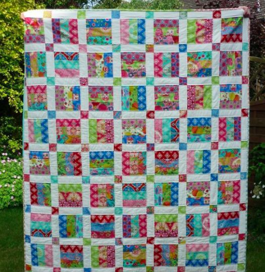 Free Jelly Roll Quilt Patterns | : This quilt pattern was designed to make the most of a Jelly Roll ...