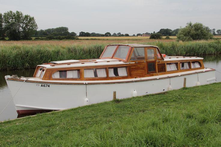 "Norfolk Broads Motor Cruiser ""Judith"""