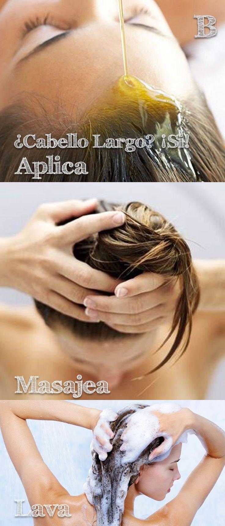 ¿Que necesitas? 1 o 2 cucharada(s) de aceite de argán (18 / 36 ml).1 o 2 cucharada(s) de aceite de coco (18 / 36 ml).1 o 2 cucharada(s) de aceite de almendra (18 / 36 ml). ¿Cómo se hace? Mezcla todos los aceites. Aplícala en la raíz de tu cabello. Masajea durante cinco minutos con la yema de tus dedos, hasta que el cóctel de aceites esté totalmente distribuido. Ponte un gorro vaporizador, y déjatelo 10min enjuaga y aplica esto durante una semana. #EstiloBlogazzine #hair #recetas #natural