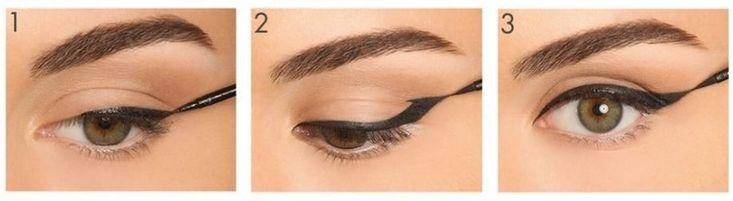 Как сделать стрелки для разной формы глаз