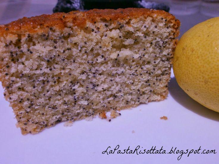 La Pasta Risottata: Cake al limone e semi di papavero Cake de limón y semillas de amapola