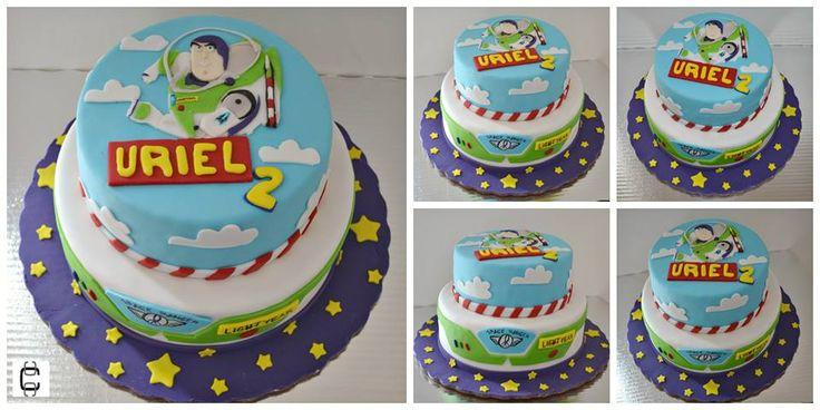 TOY STORY BIRTHDAY PARTY CAKE IDEAS / TOY STORY FONDANT CAKE IDEAS / BUZZ LIGHTYEAR BIRTHDAY CAKE / PASTEL DE FONDANT DE TOY STORY / PASTEL DE BUZZ LIGHTYEAR