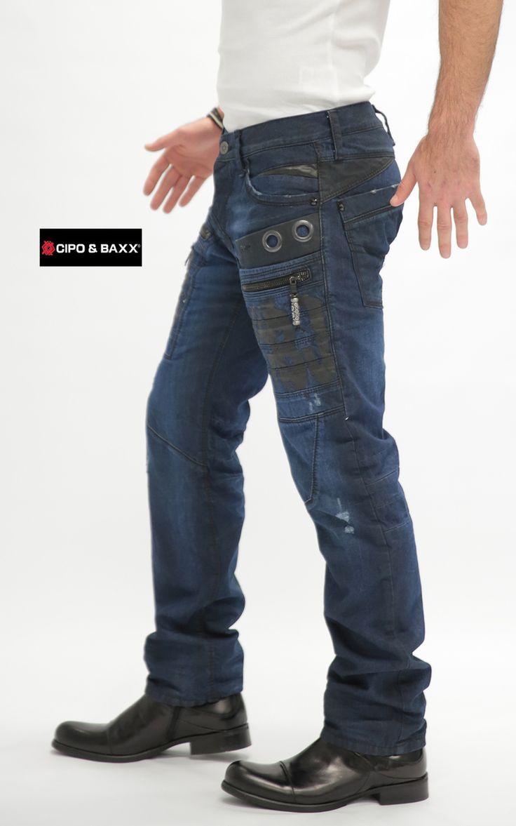 Cipo Baxx Mens Jeans C-1105 - CIPO & BAXX - AUSTRALIA