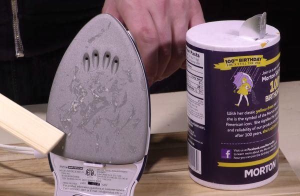 iron morton salt cleaning hacks