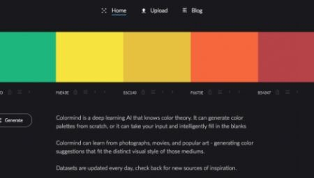Try This Intelligent Color Generator That Learns From Movies, Photographs, Art - DesignTAXI.com