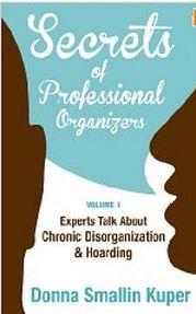 FREEbie:  Secrets of Professional Organizers!