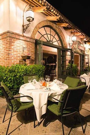 Miro's Restaurant, Palm Springs, CA | The 100 Best Restaurants in America to Eat Outside via @PureWow