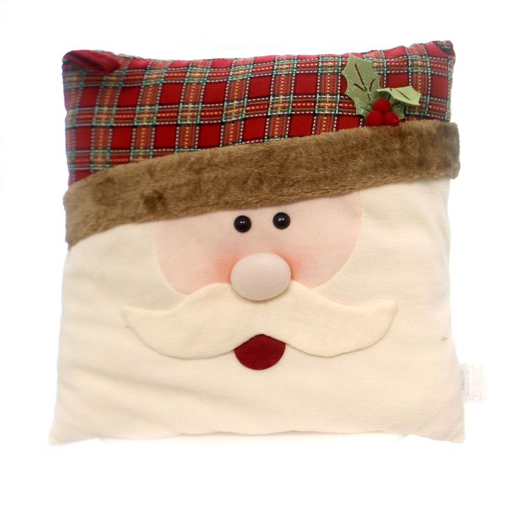 Christmas Country Plaid Pillow Christmas Decor Height: 20 Inches Material: Fabric Type: Christmas Decor Brand: Christmas Item Number: Christmas 9722384 SANTA Catalog ID: 31133 New. Measures: 20.0 In.