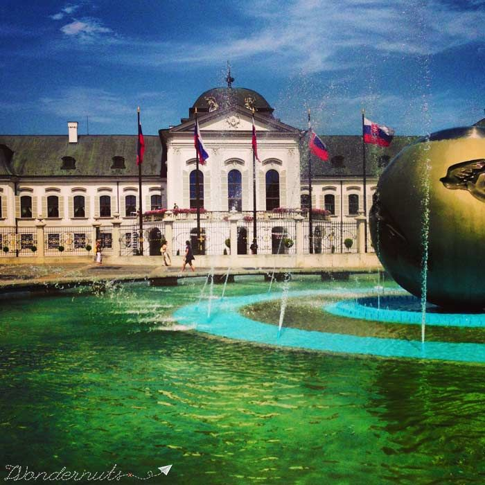The President's House in #bratislava #slovakia (Grassalkovich Palace)