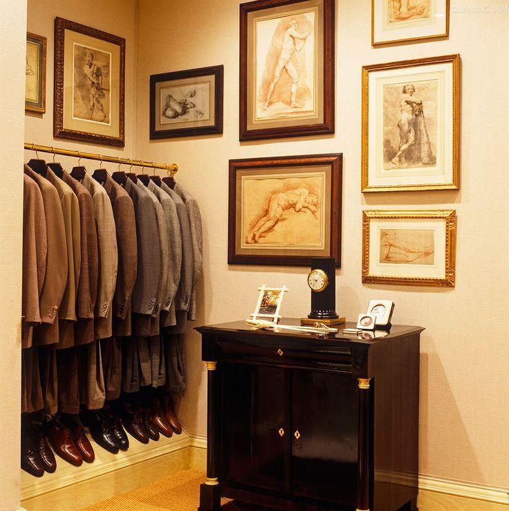 Bill Blass closet 13 best Interiors