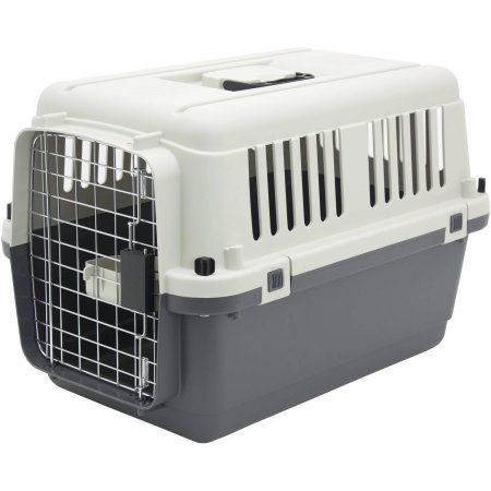 Kennels Direct Premium Plastic Dog Kennel, Small, Beige