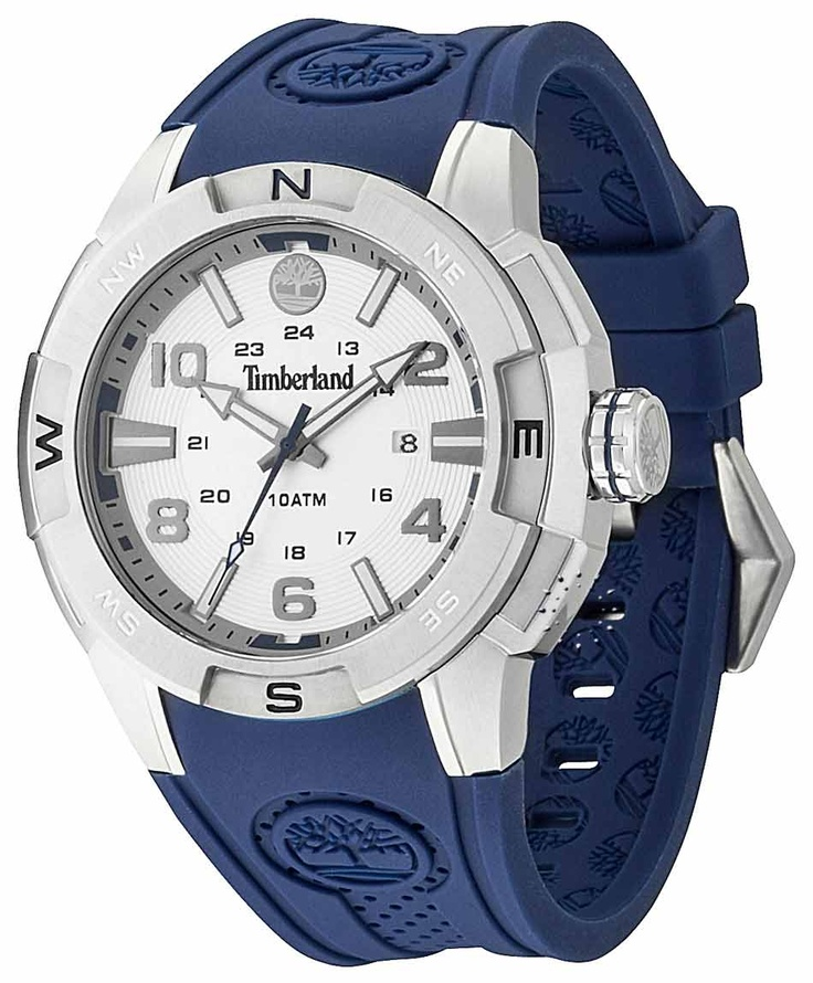 TIMBERLAND Atlamont Blue Rubber Strap Μοντέλο: 13849JS-04 Τιμή: 109€ http://www.oroloi.gr/product_info.php?products_id=31668
