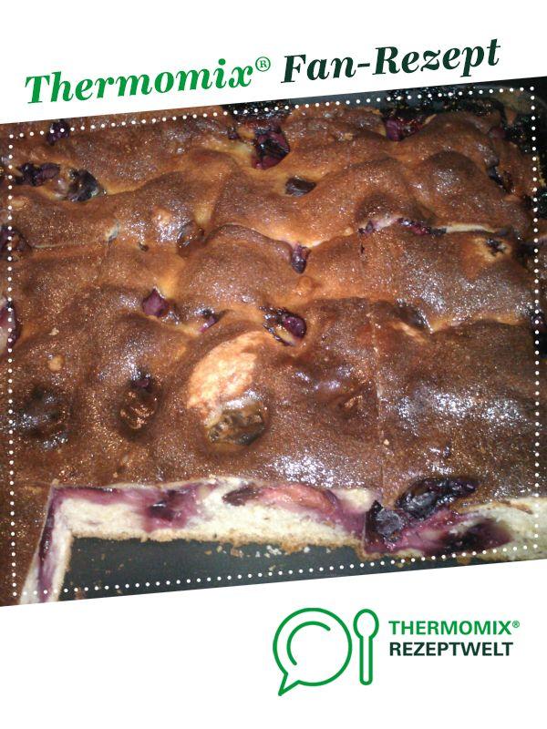 Pflaumen Schmand Kuchen Rezept Kuchen Kuchen Backen Und