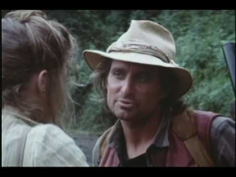 ROMANCING THE STONE - Trailer ( 1984 ) This movie - with its bickering romantic couple, satirical humor and intense action scenes where whatever can go wrong will - was my main inspiration for Jack & Amanda's adventures. #HighAdventure