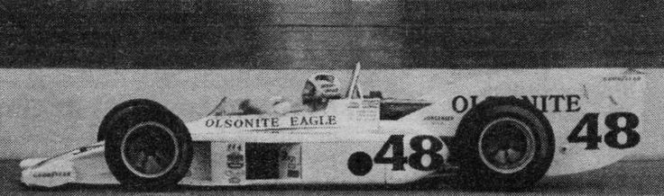 Bobby unser 1974 ontario motor speedway aero test only for Ontario motor speedway california