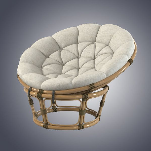 Round Bamboo Wicker Chair Decor Home In 2019 Pinterest Patio