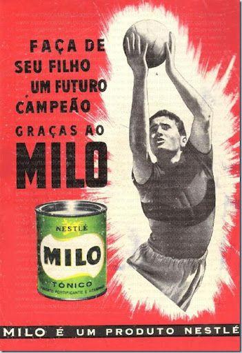 MILO portuguese brand // choco powder