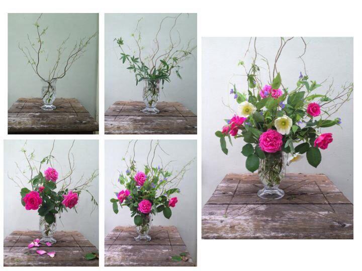 how to make a garden bouquet