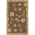 $182.99  Surya Rugs - Flor Coffee / Gold Contemporary Rug - FLO8902