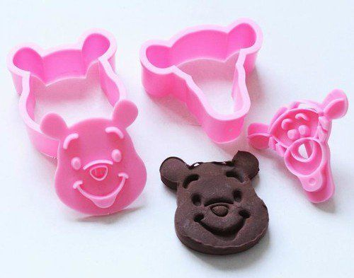 niceeshop(TM) 1Set(2Pcs)-Cute 3D Disney Winnie Pooh & Tigger Cookie…