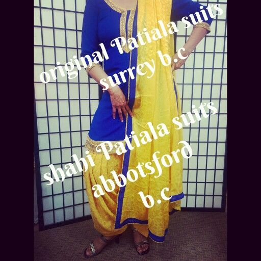 Large variety of Royal city patiala suits Call or whatsapp for more details  +1-604-780-8190