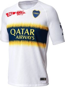 e349afd72c9 2018-19 Cheap Jersey Boca Juniors Away Replica White Shirt  CFC486  Football  Cards