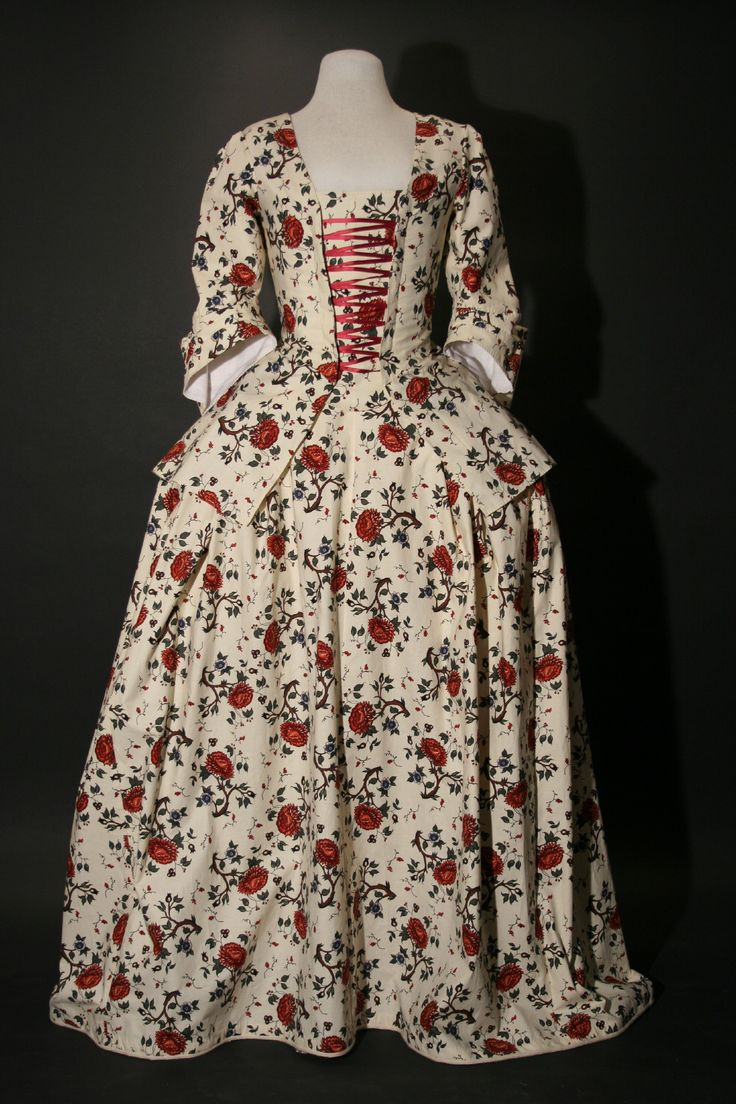 Calico Jacket and Petticoat | 18th century fashion, 18th ...