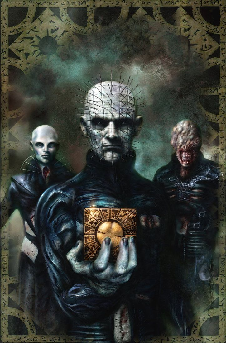 Hellraiser cover artwork by Nick-Percival on deviantART