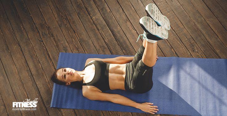 Double Leg Stretch - Sıkı Karın Kasları