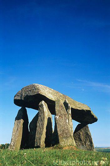Bronze age Standing Stones, Pembrokeshire, Wales
