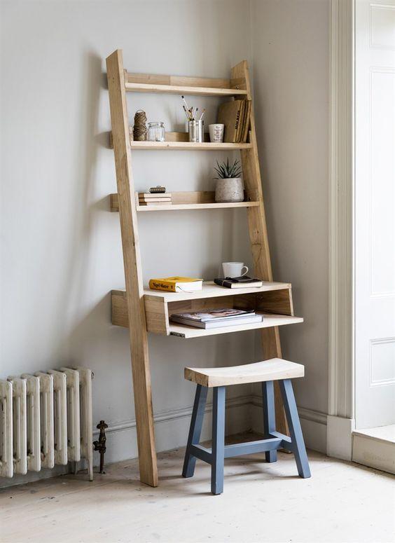 hambledon desk ladder raumgef hl ladder desk diy computer desk rh pinterest com