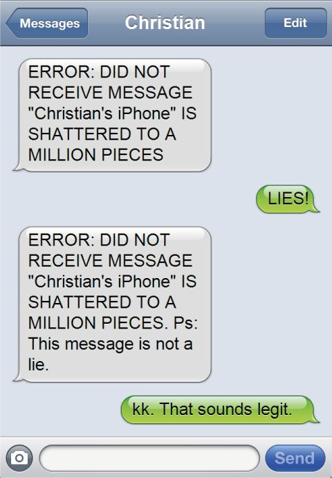 how to put out of office on text messages