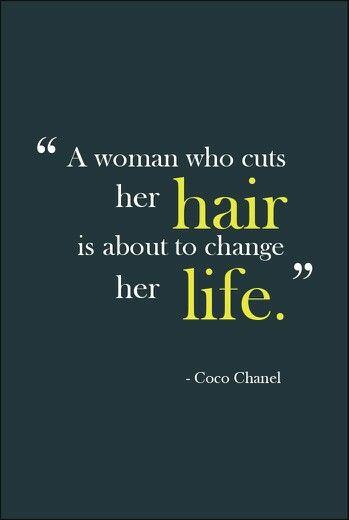 Eine Veränderung im Leben? Ein neuer Haarschnitt muss her.