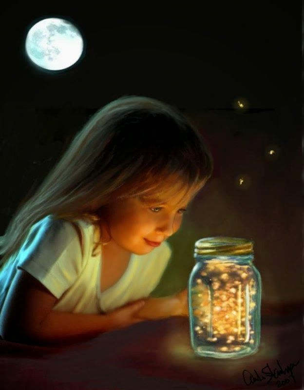 "Children's Poem: ""To a Baby Firefly"""