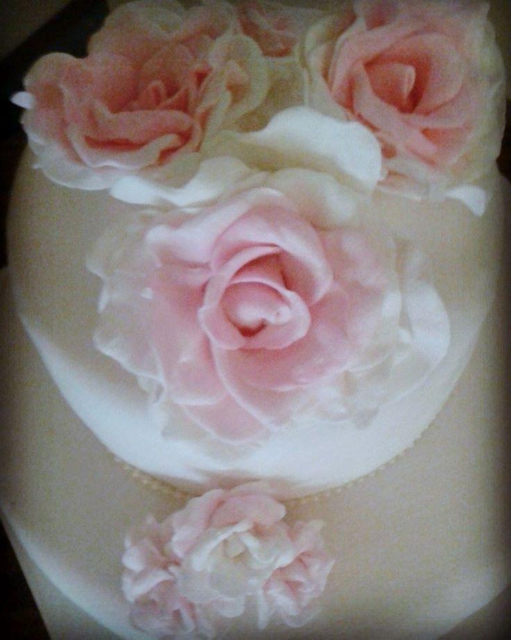 Torta decorada con rosas  https://www.facebook.com/organizadoraflorenciacopoletti/