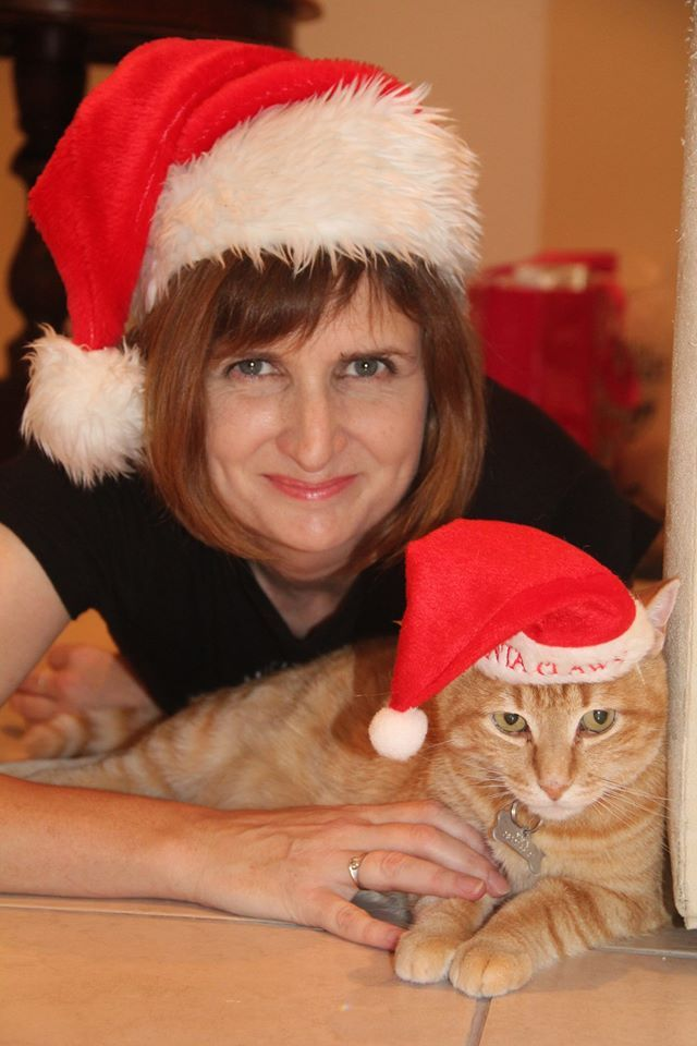 Me and my kitty. Being festive always includes my 'feline' baby. I just love him :) #GETFESTIVEWITHORMS
