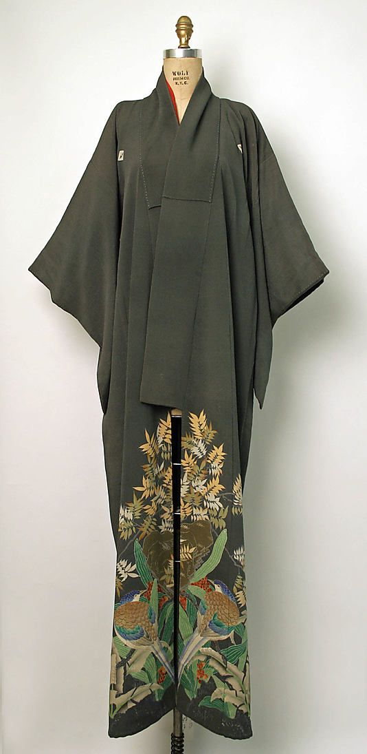 Kimono Date: early 20th century Culture: Japanese Medium: silk