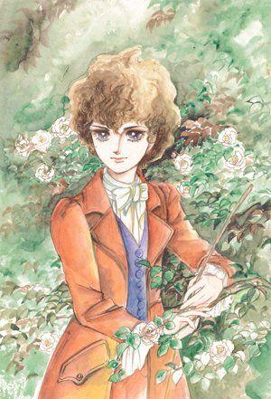 「萩尾望都ポストカードコレクション」のうち1種。