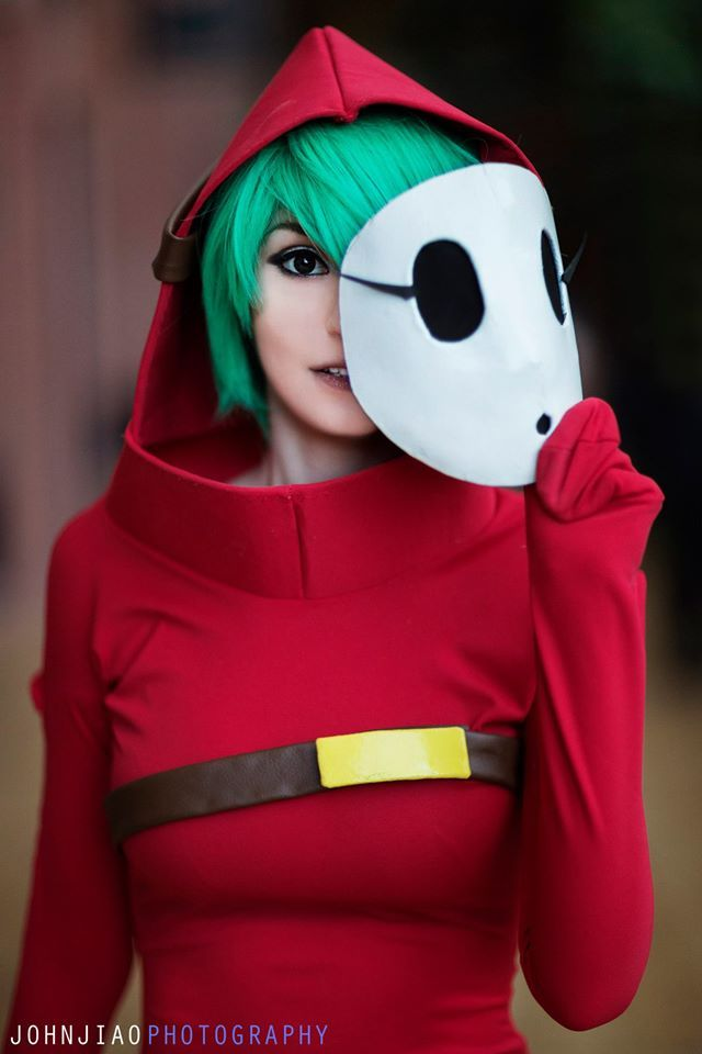 Cosplayer @byndogehk kicks off today with this awesome Shy Guy from #SuperMario fame! #cosplay https://www.facebook.com/genderbynder https://www.facebook.com/JohnJiaoPhotography Interviews, features...