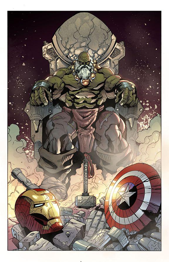 #Hulk #Fan #Art. (Maestro Hulk) By:Race73. (THE * 5 * STÅR * ÅWARD * OF: * AW YEAH, IT'S MAJOR ÅWESOMENESS!!!™) ÅÅÅ+