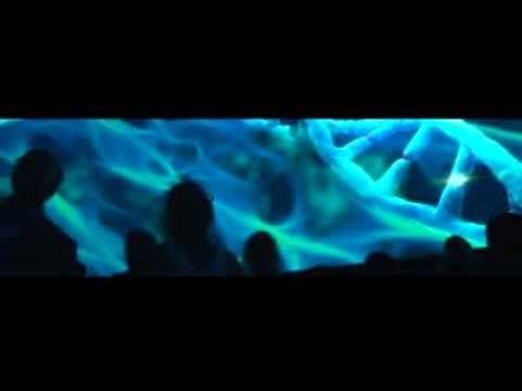 """""""UNE NOUVELLE BU"""" CONVENTION ECRAN 360°  UNE NOUVELLE BU Un écran de 48m de base sur 360°. 250 participants assis sur des poufs autour d'un concept fort """"La Naissance""""."""